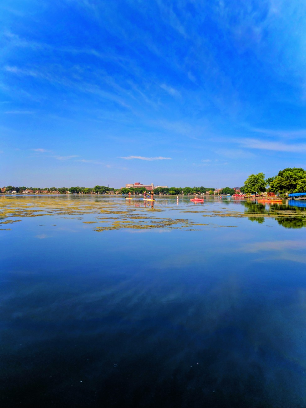 SUP on Lake Monona Madison Wisconsin 1