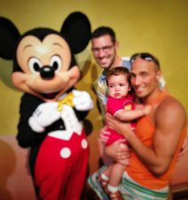 Taylor Family and Mickey Mouse 2