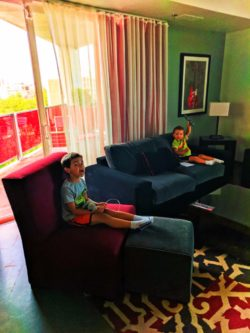 Taylor Family at Hotel Red Madison Wisconsin 3