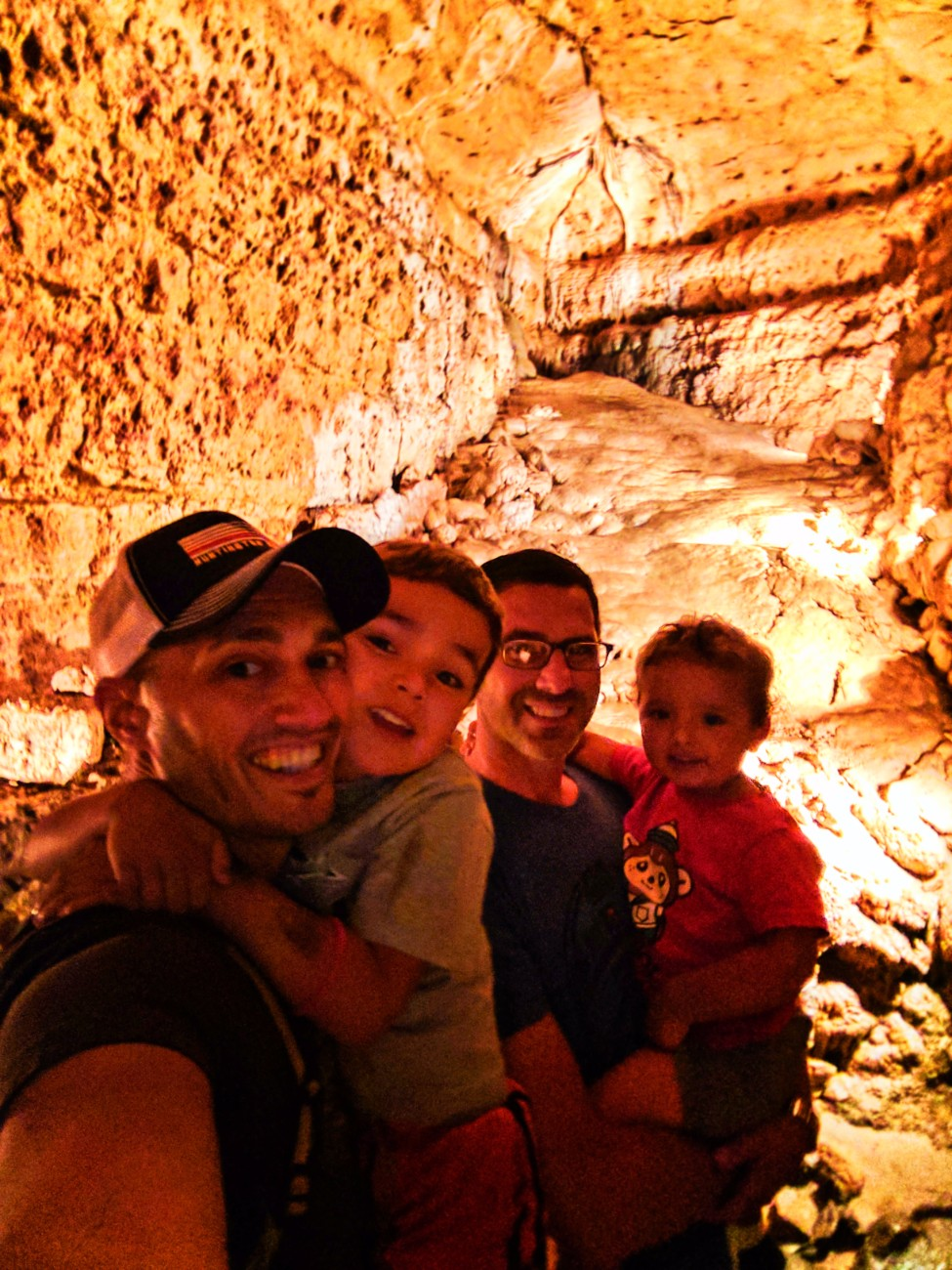 Taylor Family in Cave of the Mounds Mt Horeb Wisconsin 3