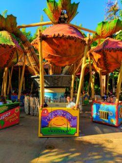 Taylor Family on Flicks Flying Food Boxes Bugland Disneys California Adventure 1