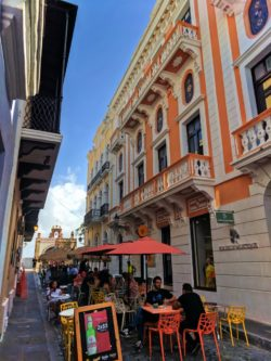 Al Fresco dining in Old San Juan Puerto Rico 1