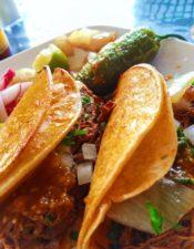 Barbacoa Tacos at Tacos 805 in Santa Maria California 2