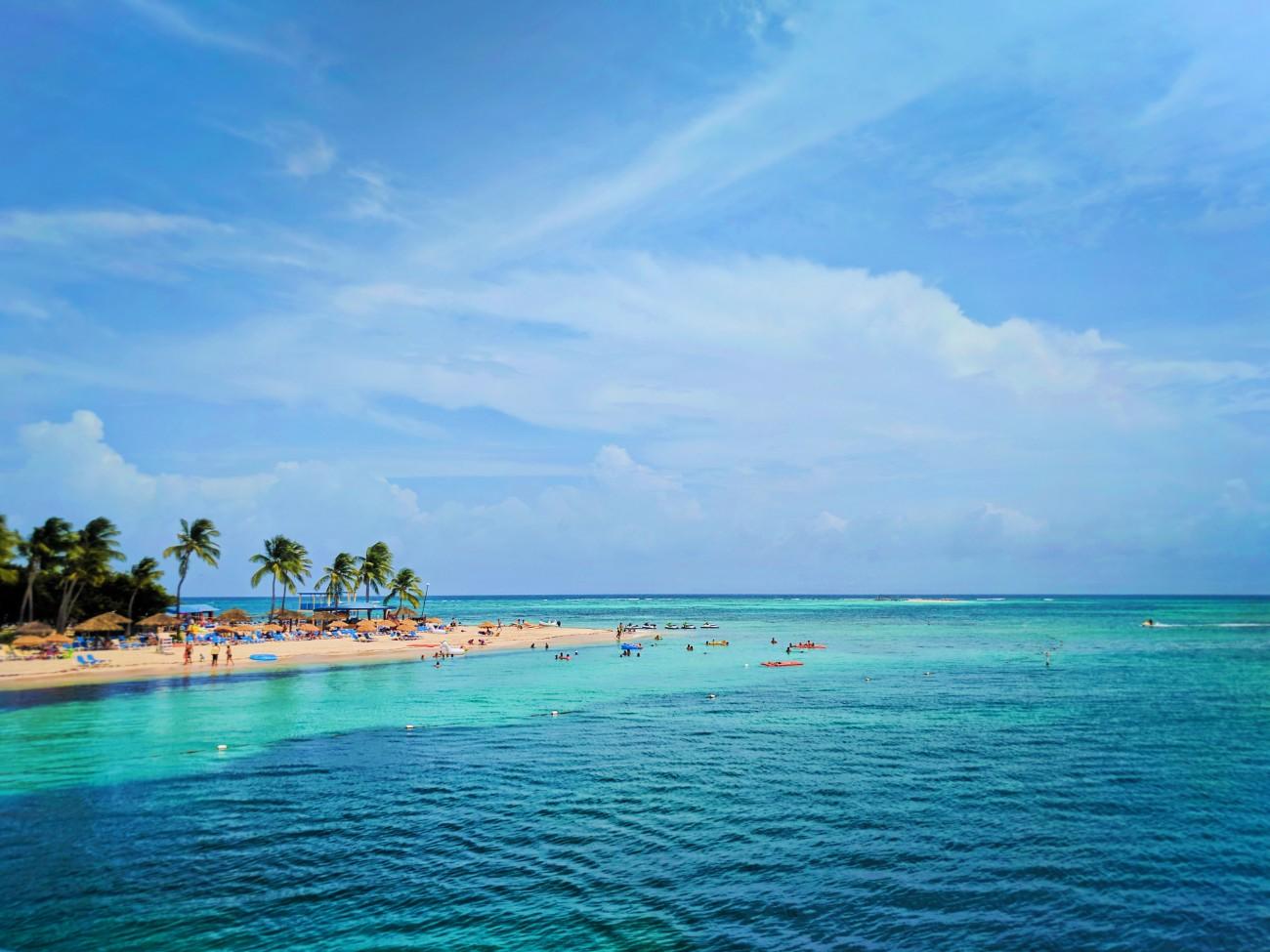 Beach on Isla Palominito El Conquistador Puerto Rico 2