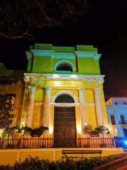 El Convento Hotel in Old San Juan Puerto Rico at night 1