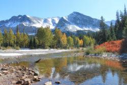 Creek at Running Eagle Falls Two Medicine Glacier National Park