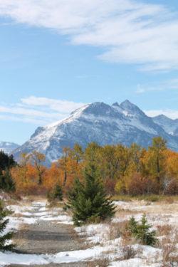 1913 Ranger Station Trail St Mary Lake Glacier National Park