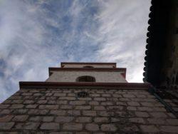 Bell tower of Mission Santa Barbara