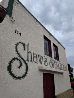Dinner at Shaws Steakhouse Santa Maria California 2