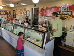 Taylor Family at Doc Burnsteins Ice Cream Lab Orcutt California