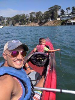 Taylor Family Kayaking at Morro Bay State Park 2