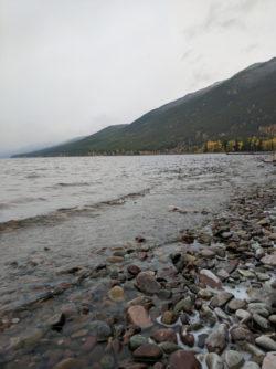 Lake McDonald in Fall Glacier National Park