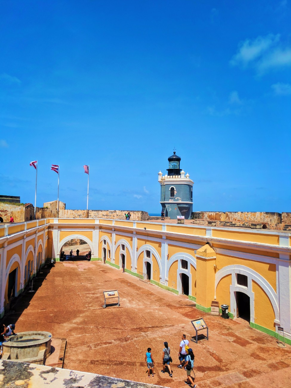Lighthouse at El Morro Old San Juan National Historic Site Puerto Rico 5