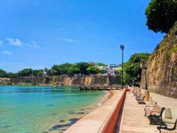 Malecon and City Wall along Paseo del Morro San Juan National Historic Site Puerto Rico 5