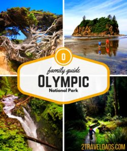 Olympic National Park in Washington State is one of the most diverse collections of ecosystems and environments in the United States. Beaches, rainforest, alpine hiking and pristine lakes are all within the bounds of Olympic National Park. 2traveldads.com