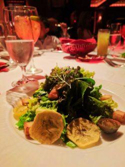 Plantain Salad at Chops Restaurant at El Conquistador Resort Puerto Rico 1