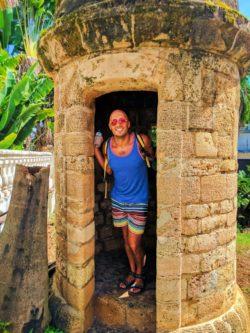 Rob Taylor at Casa Blanca Old San Juan Puerto Rico 3