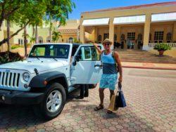 Rob Taylor with Jeep at El Conquistador Resort Puerto Rico 1