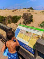 Taylor Family at Dunes Boardwalk at Oso Flaco Lake Nature Preserve Nipomo 1