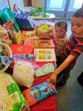 Taylor Family at WestSide Baby National Diaper Bank Network Huggies 4