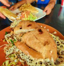 Torta at Tacos 805 in Santa Maria California 2