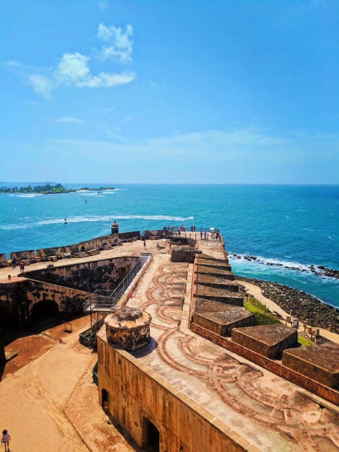 View from Castillo del Morro Old San Juan National Historic Site Puerto Rico 1