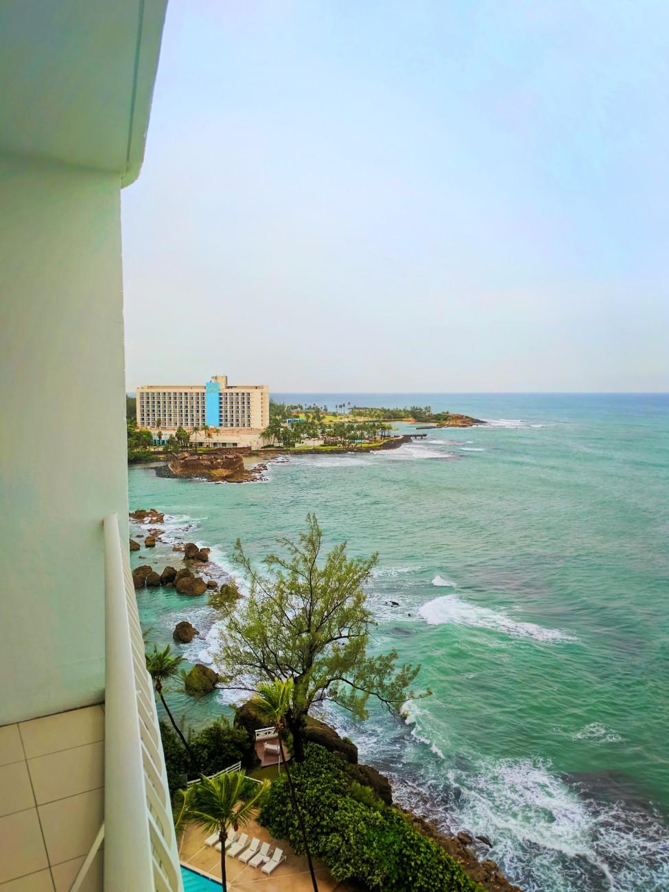 View from Condado Plaza Hilton San Juan Puerto Rico 1