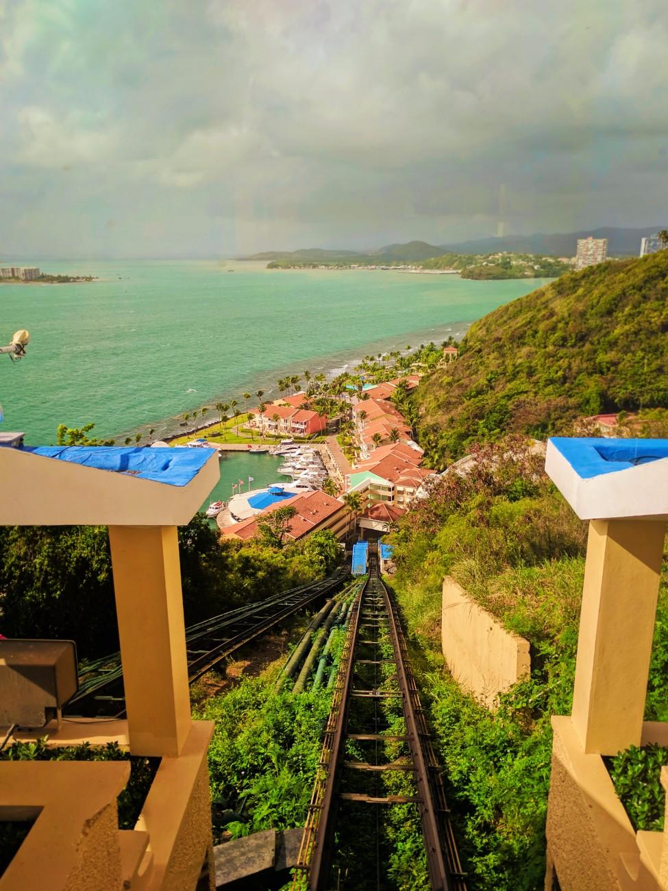View of El Conquistador Resort from funicular Puerto Rico 1