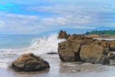 Crashing waves at Moonstone Beach Cambria California Central Coast 6