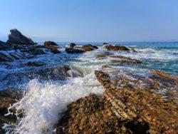 Crashing waves at Spooners Cove Montana de Oro State Park San Luis Obispo 2