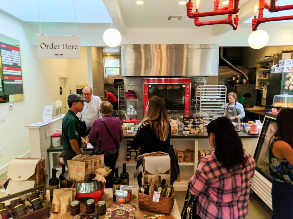 Deli counter at SLO Provisiona San Luis Obispo 2