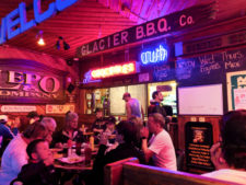 Inside Great Northern Bar and Grill downtown Whitefish Montana 1