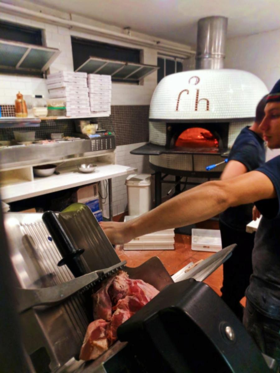 Kitchen at Flour House restaurant San Luis Obispo 1