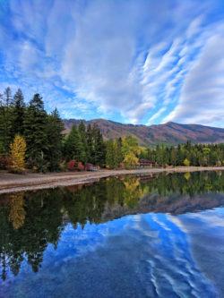 Morning reflection on Lake McDonald Glacier National Park 11