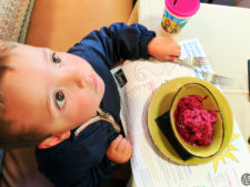Ollalaberry sorbet at Linns Fruit Bin East Village Cambria Central Coast 1