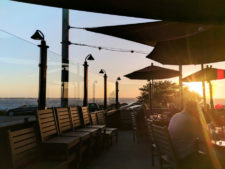 Outdoor dining at Moonstone Beach Bar and Grill Cambria Central Coast 1