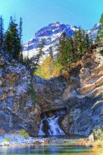 Running Eagle Falls Two Medicine Glacier National Park 2