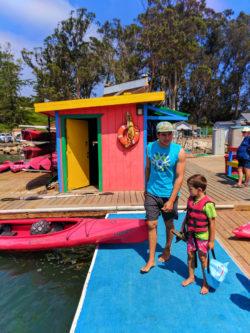 Taylor Family Kayaking in Morro Bay San Luis Obispo 5