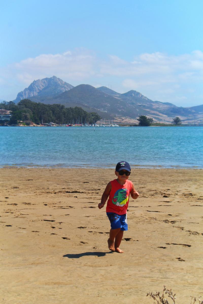 Taylor Family Kayaking to Sand Dunes in Morro Bay San Luis Obispo 9