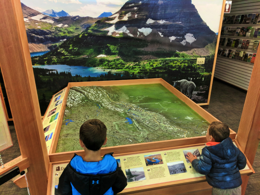 Taylor Family at Crown of the Continent Discovery Center West Glacier Montana 2
