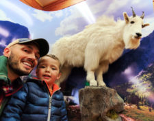 Taylor Family at Crown of the Continent Discovery Center West Glacier Montana 4