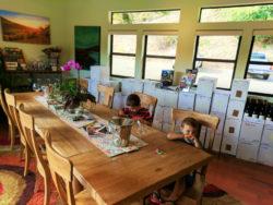 Taylor Family at Cutruzzola Vineyards Wine Tasting Cambria Central Coast 1