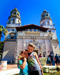 Taylor Family at Hearst Castle San Simeon California State Park 5b
