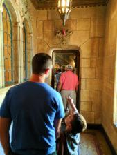 Taylor Family at Hearst Castle San Simeon California State Park 8