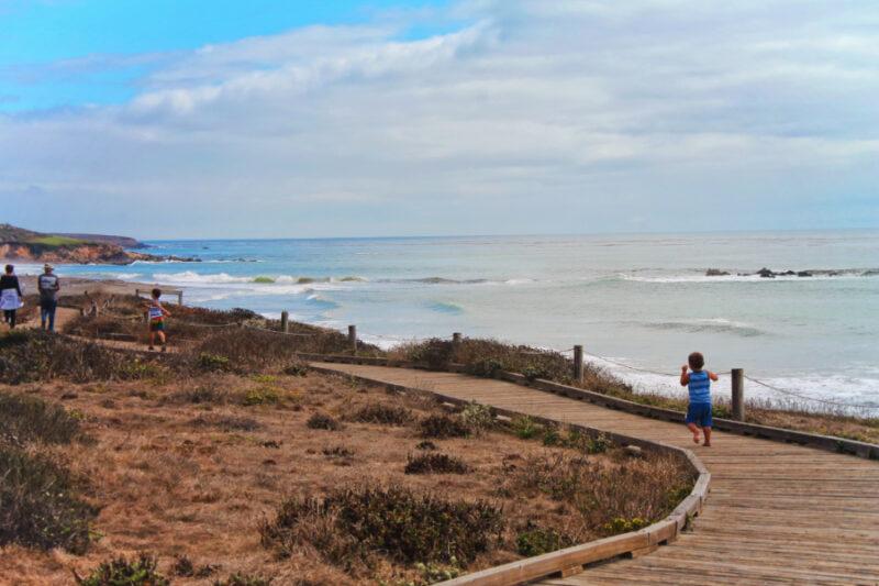 Taylor Family at Moonstone Beach Cambria California Central Coast 9