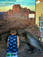Taylor Family at Pinnalces National Park Entrance Visitors Center 1