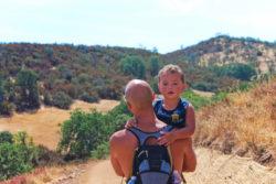 Taylor Family at Pinnalces National Park hiking 1