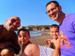 Taylor Family at Spooners Cove Montana de Oro State Park San Luis Obispo 7