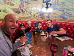 Taylor Family dining at the Madonna Inn San Luis Obispo 2