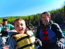 Taylor Family float trip Glacier Guides Montana Raft Glacier National Park 1